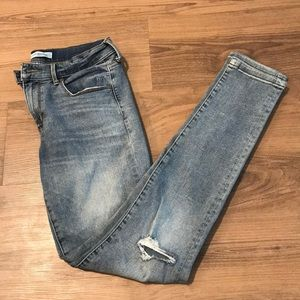 Banana Republic Skinny Light Wash Jeans